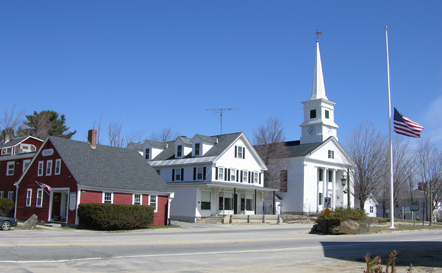 Downtown Dublin, New Hampshire