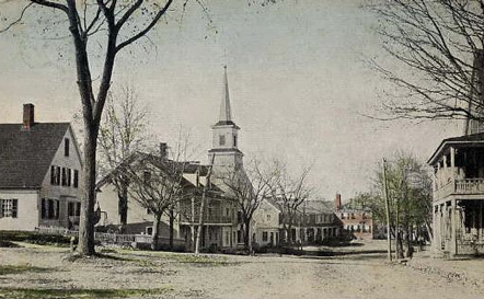 East Main Street, Greenville, New Hampshire, 1919 postcard